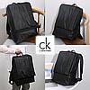 """Городской рюкзак Calvin Klein. Черный унисекс рюкзак. Рюкзак для ноутбука 15.6"""", фото 8"""