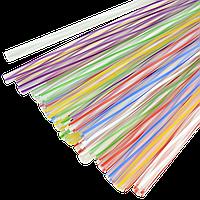 Трубочка Фреш 3D Микс 6,8мм 25см 500шт