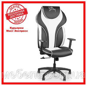Кресло для врача Barsky BSDsyn-04 Sportdrive White Arm_1D Synchro PA_designe, черный / белый, фото 2