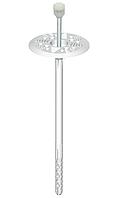 Дюбель для минеральной ваты LFM 10х180 мм. с металлическим стержнем и термоголовкой Wkret-Met, 200 шт.