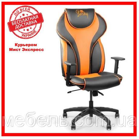 Геймерское компьютерное кресло Barsky Sportdrive Orange Arm_1D Synchro PA_designe BSDsyn-05, фото 2