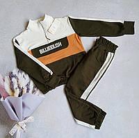 Стильный костюм для девочки 128,134