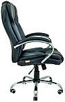 Кресло компьютерное Гранде, черный, кожзам, Richman, фото 3
