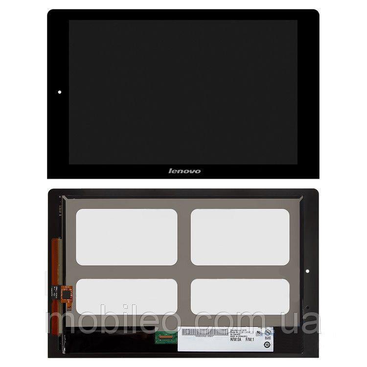 Дисплей (LCD) планшет Lenovo B8080 Yoga Tablet 10 з тачскріном, чорний