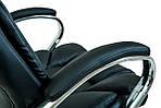 Кресло компьютерное Гранде, черный, кожзам, Richman, фото 4