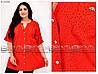 Женская  летняя  туника-рубашкав горошек с 52 по 66 размер, фото 4