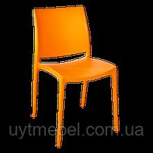 Стілець Емма нью помаранчевий (Алеана)