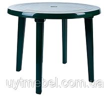 Стіл круглий зелений (Алеана)