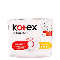 Гигиенические прокладки Кotex Ultra Soft Normal 10 шт