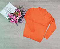 Гольф, водолазки женские, горло стойка, модная Оранжевой, фото 1
