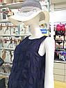 Образ: сарафан, темно-синій та капелюх, TM Ora, фото 2
