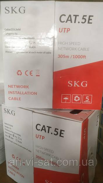 Кабель мережевий SKG UTP (305 м)