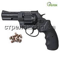 """Револьвер под патрон Флобера Stalker 3"""" black черная рукоять"""