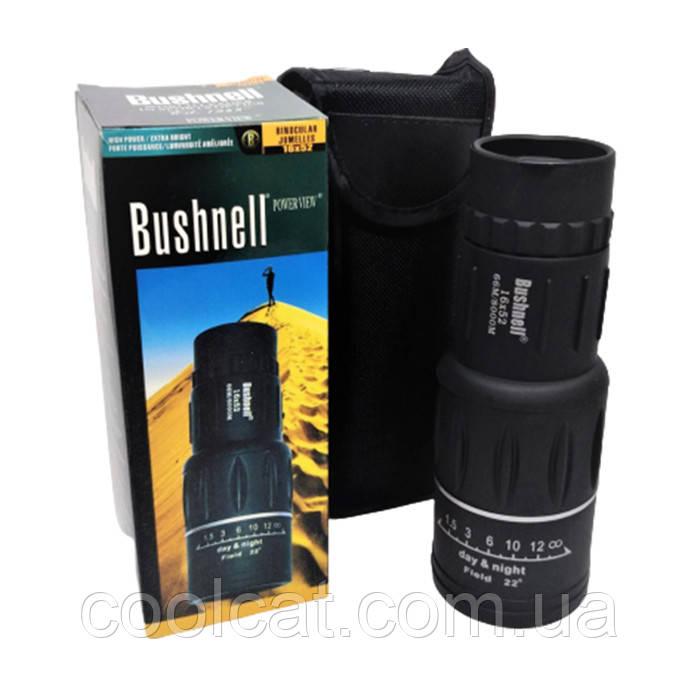 Мощный компактный монокуляр Bushnell 16х52 с двойной фокусировкой
