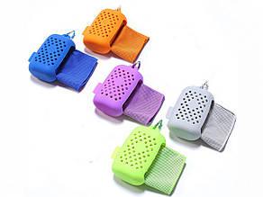Полотенце охлаждающее спортивное в силиконовом чехле Cool Towel 8x11 cm
