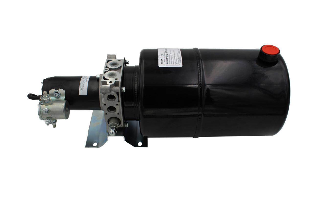 Мини-маслостанция для подъема кузова автомобиля (на газель)