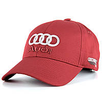 Кепка Audi А205 Бейсболка Красная