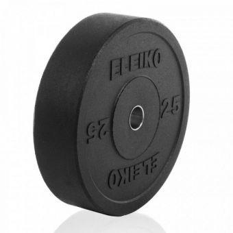 Диск Eleiko амортизирующий XF 25 кг черный 3002219-25  (ПРОФКА)