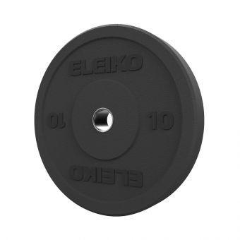 Диск амортизирующий Eleiko XF 10 кг черный 3085125-10  (ПРОФКА)