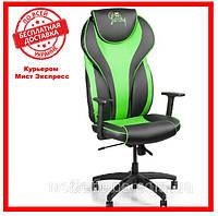 Геймерское компьютерное кресло Barsky Sportdrive Green Arm_pad Tilt PA_designe BSD-01