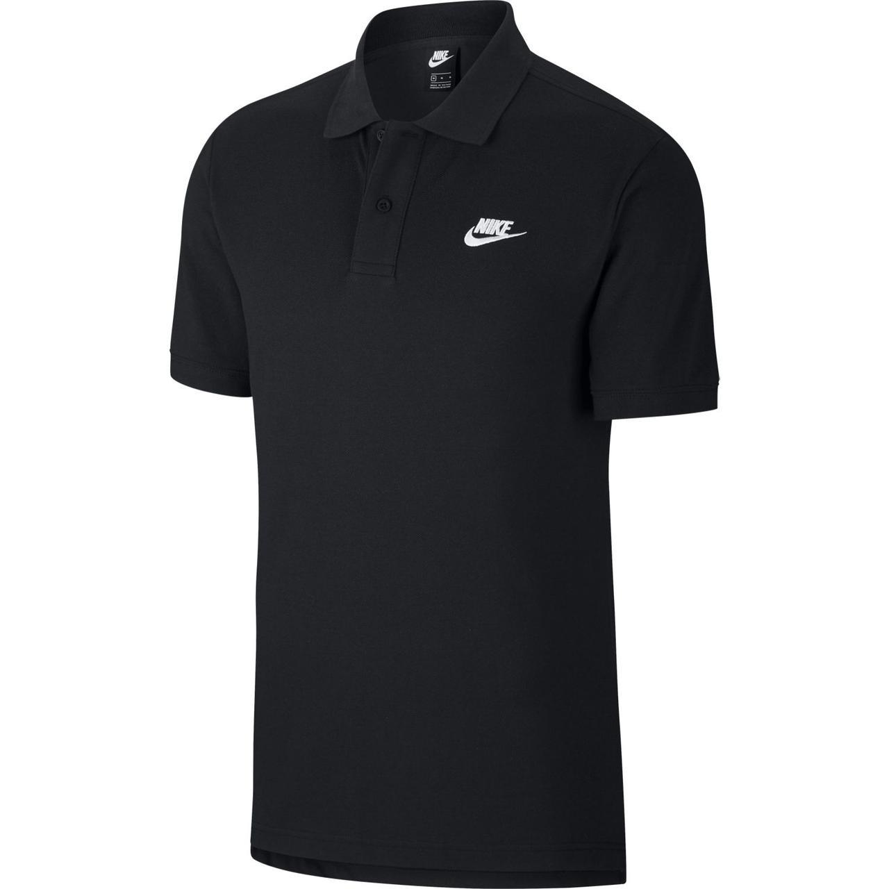 Футболка поло Nike Sportswear CJ4456-010 Черный