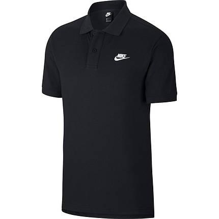 Футболка поло Nike Sportswear CJ4456-010 Черный, фото 2