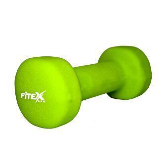 Гантель неопреновая Fitex MD2015-2N 2 кг  (ПРОФКА)