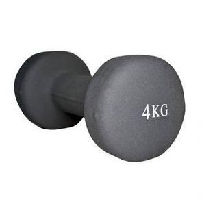 Гантель неопреновая Fitex MD2015-4N 4 кг   (ПРОФКА)
