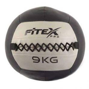 Мяч набивной Fitex MD1242-9, 9 кг  (ПРОФКА)