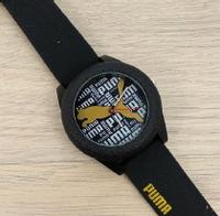 Часы наручные мужские женские детские Puma Black 1054-0004 (реплика)