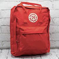 Рюкзак городской повседневный спортивный Travel Republic Classic женский, красный (для учебы, работы)