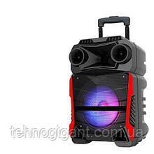 Аккумуляторная портативная колонка чемодан Ailiang LiGE-Q81F, беспроводная Bluetooth акустика, пати бокс