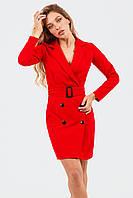 Класичне жіноче плаття Impreza, червоний