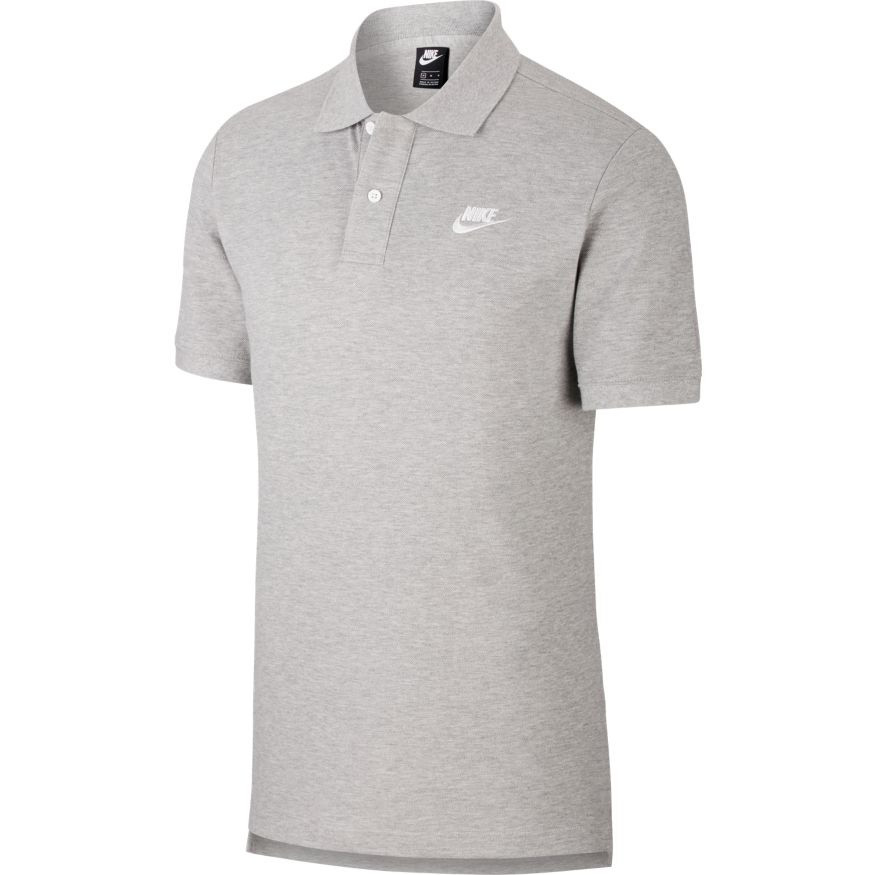 Футболка поло Nike Sportswear CJ4456-063 Сірий