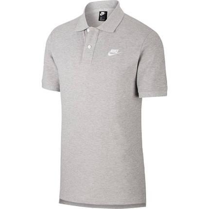 Футболка поло Nike Sportswear CJ4456-063 Сірий, фото 2