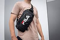Сумка на грудь слинг FILA Longer маленький рюкзак на одно плечо