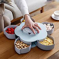 Коробка-органайзер для закусок на 5 отсеков (маленкая)