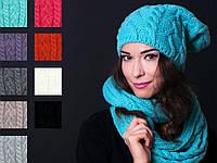 Женский зимнйи набор шапка и шарф