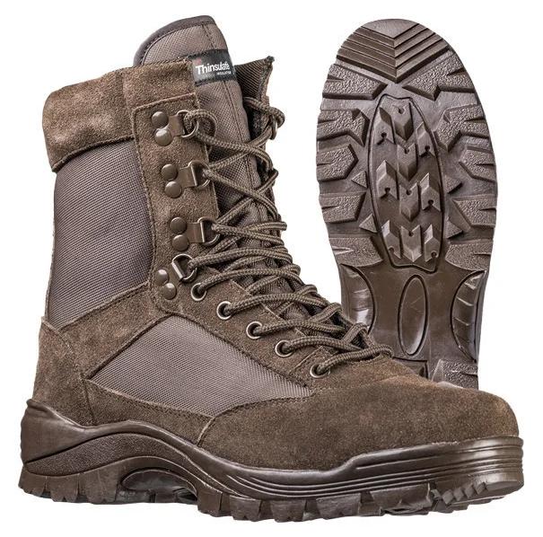 Ботинки MIL-TEC тактические размер 45, стелька 30см код: 12822109