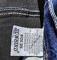 Женские прямые джинсы размер наш 56-58 (Л-188), фото 3