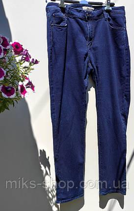 Женские прямые джинсы размер наш 56-58 (Л-188), фото 2