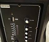 Аккумуляторная колонка чемодан Ailiang LiGE-AR12QKS, беспроводная 12 дюймовая акустика, комбоусилитель, фото 5