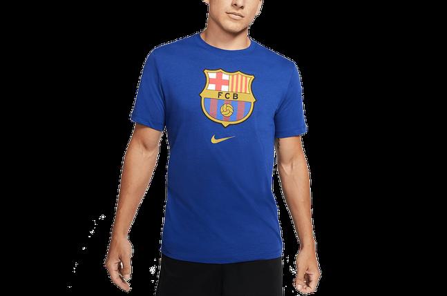 Футболка Nike FC Barcelona Evergreen Crest 2 CD3115-455 Темно-синій, фото 2