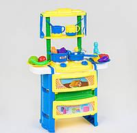 Крутая игрушечная кухня, музыка, свет (плита, духовка, посуда, продукты), фото 1