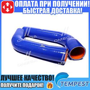 Патрубок радиатора КАМАЗ ЕВРО (комплект 2 шт. силиконовые) (TEMPEST) (арт. TP.1337)
