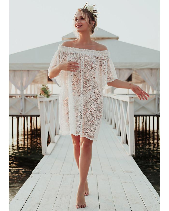 Сукня - комбінація мереживне.Forly.Україна.