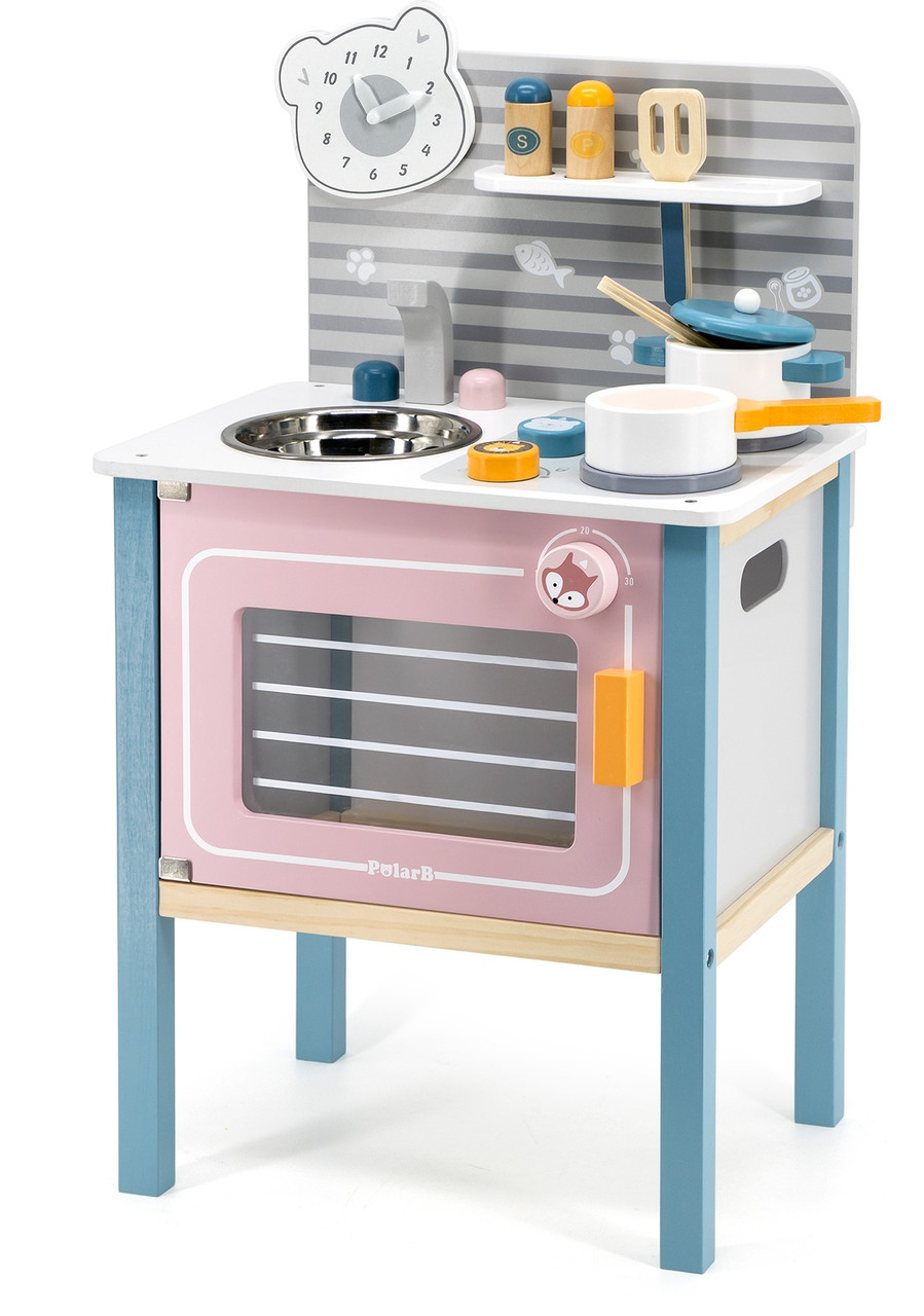 Ігровий набір Кухня з посудом Viga toys PolarB (44027)