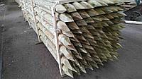 Стовпи шпалерні дерев'яні 120х3000