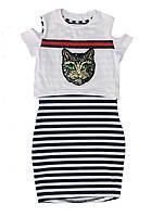 Стильное платье для девочки, подросток, 8-16лет 146