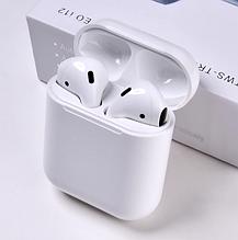 I12 TWS беспроводные Bluetooth наушники Stereo white с зарядным боксом
